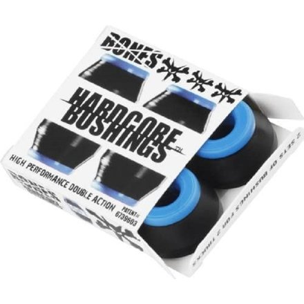 Bones Hardcore Black Skateboard Bushings - Soft