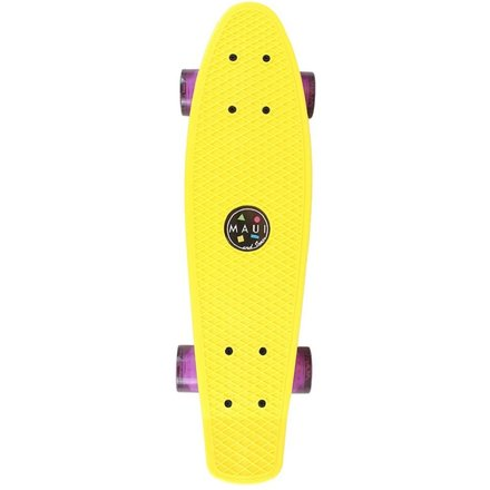 Maui and Sons Cruiser Street Shark, Yellow, MSSKT3029