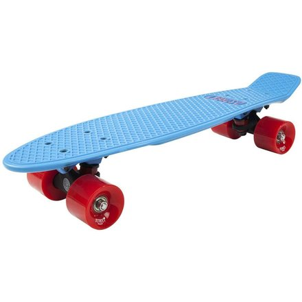 D-Street Polyprop Blue/Red Cruiser