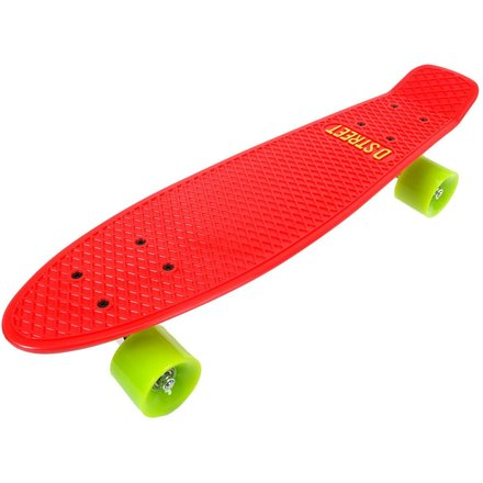 D Street POLYPROP Cruiser red/green
