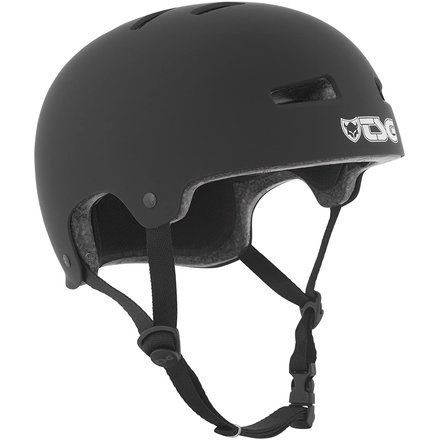 TSG Helm Evolution Solid Color Satin Black S/M