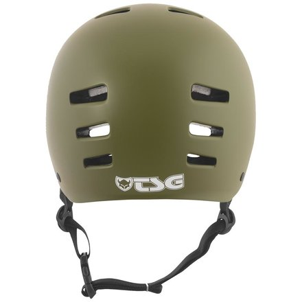 TSG Helm Evolution Solid Color Satin Olive S/M