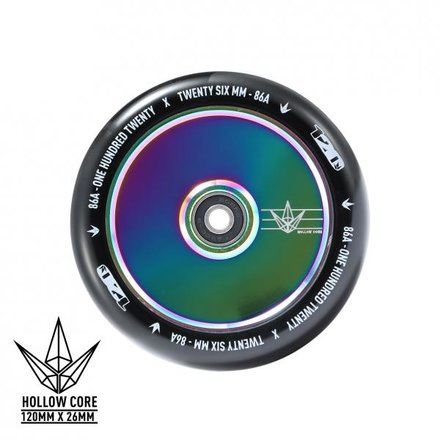 Blunt 120mm Stunt-Scooter Rolle Hollow (Oil Slick)