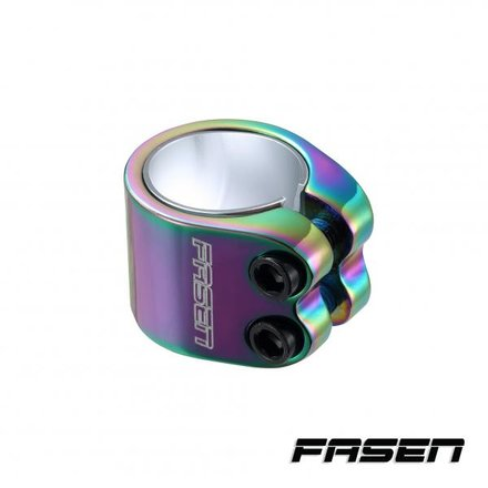 Fasen Clamp 2 Bolts Oversize Ø 34,9 mm mit Shim (Oil Slick)
