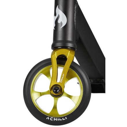 Chilli Pro Stunt Scooter Reaper reloaded REBEL black lime