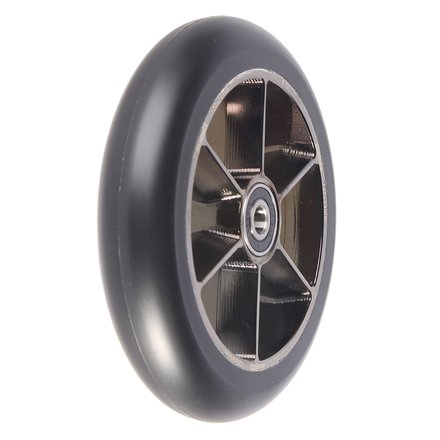 Anaquda Blade Wheel Stunt Scooter Rolle 120mm Blackchrome/Pu Black