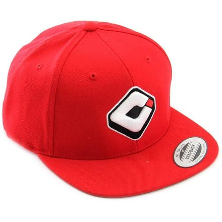 Madison Mx ODI Snap Back Hat Red One Size
