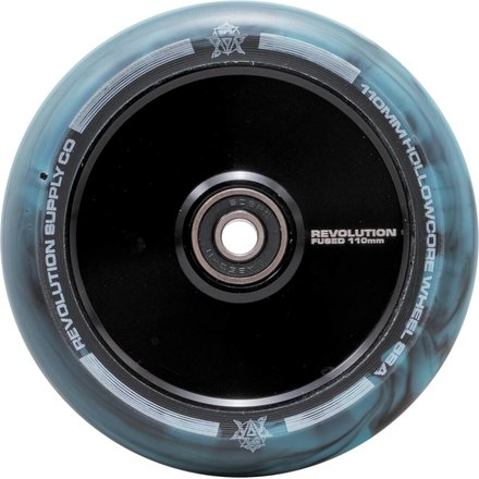 Revolution Supply Hollowcore Stunt Scooter Rolle Wheel 110 mm Black/Blue