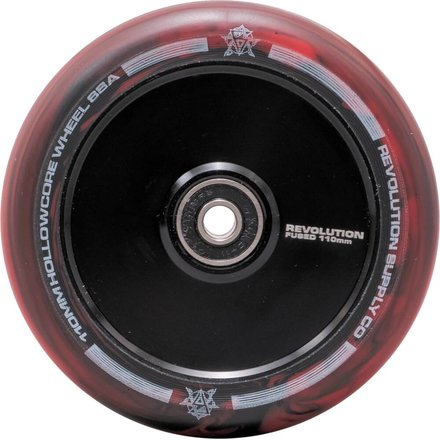 Revolution Supply Hollowcore Stunt Scooter Rolle Wheel 110 mm Black/Red